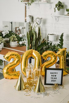 New Year, Decoration, 2021