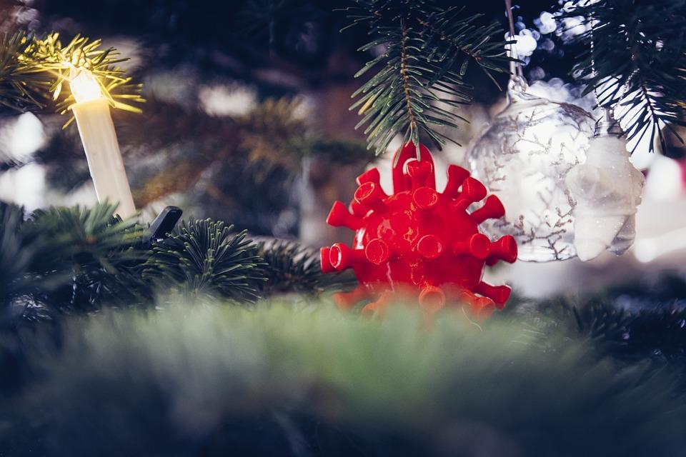 X Mas, Christmas, Corona, Corona Christmas, Fir Tree
