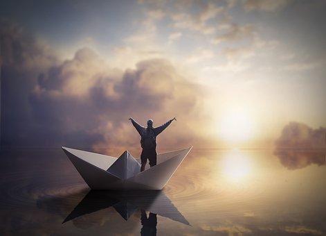 200 Gambar Perahu Kertas Perahu Gratis Pixabay