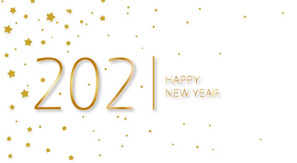 Nouvel An, Salutations, 2021, Bonne Année, Calendrier