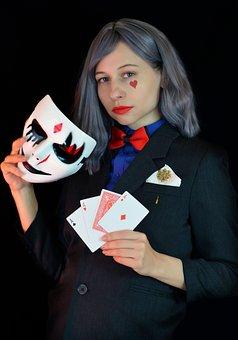 Sharper, Card Player, Gambling, Swindler