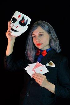 Sharper, Card Player, Poker, Gambling