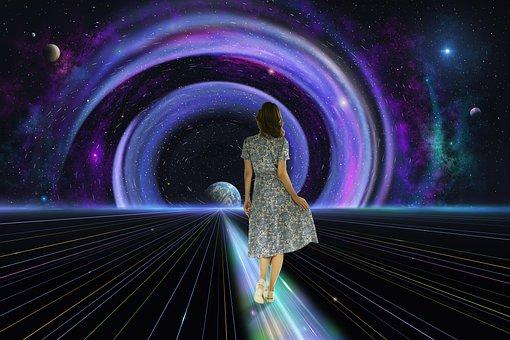Galaktyka, Planety, Przestrzeń