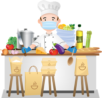 Virtual Interactive Cooking Class Supply Pick Up