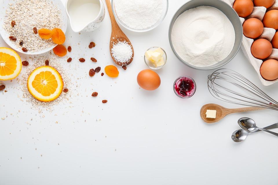 Cooking, Ingredients, Flat Lay, Bake, Baking