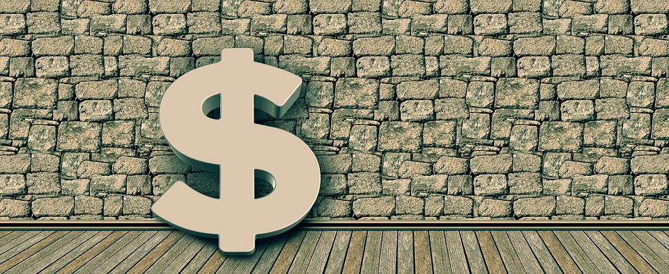 Dollar, 通貨, お金, 壁, 金融, 銀行, 経済, バンキング, 収入
