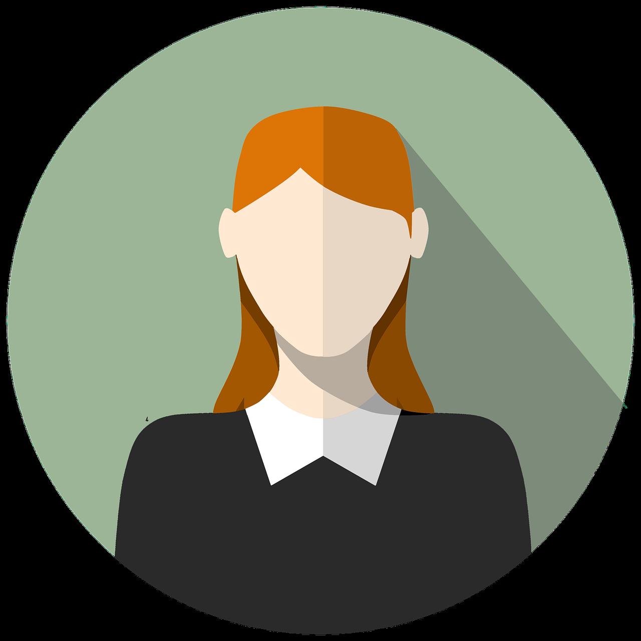 Icon Girl Avatar - Free image on Pixabay