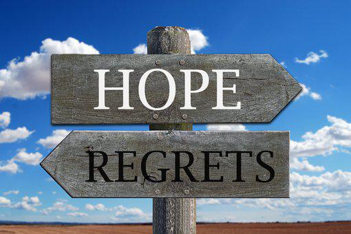 Speranza, Rimpianti, Futuro, Passato