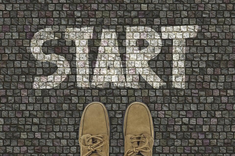 開始, 靴, 路面, 足, 方向, 初め, 意図, 停止, アイデア, コンセプト, 妊娠, 計画