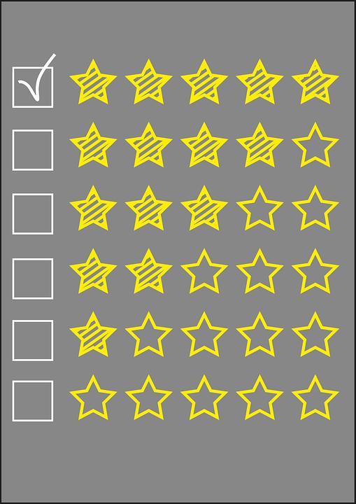 Beoordeling, Ster, Kwaliteit, Kritiek, Opiniepeiling