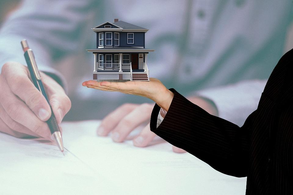 房子, 财产, 房地产, 按揭贷款, 买, 租金, 投资, 房产经纪人, 出售, 合同, 迹象, 手, 给