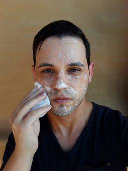 Face, Washing, Soap, Facial Cleaning