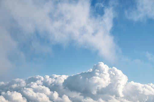 Sky, Clouds, Blue, Forms, Climate