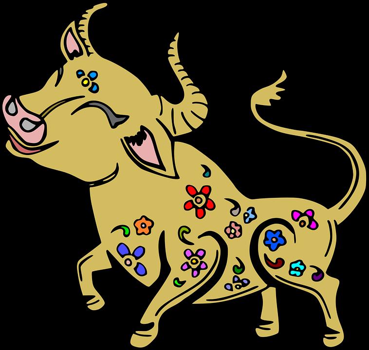 Buffalo, Bull, Herkauwers, Koe, Staart, Hoofd