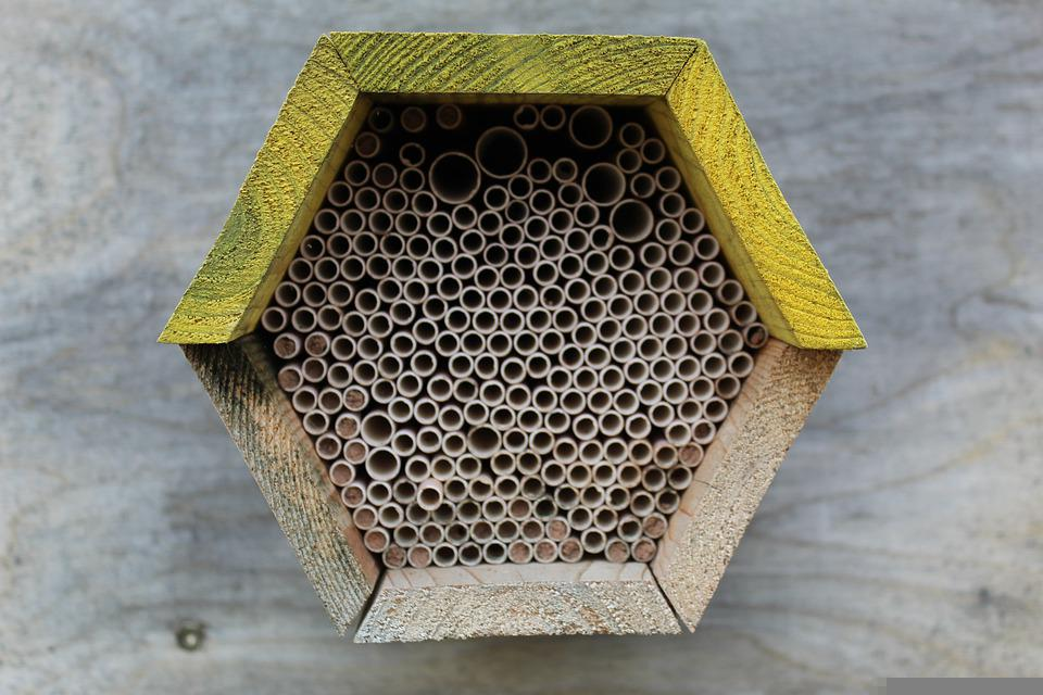 Bee Hotel, Insect Hotel, Nesting Help, Insect House