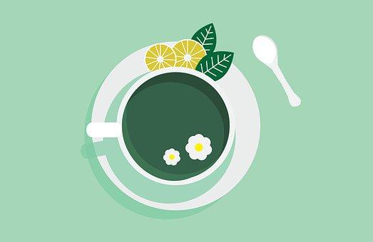 Green, Mint, Tea