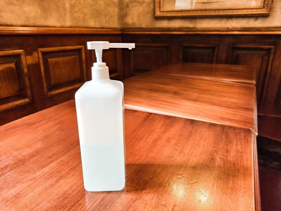 Quarantine, Corona Virus, Restaurant, Disinfectant