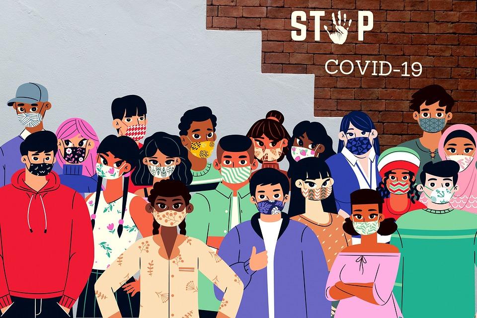 COVID-19/三月維持戴口罩勸導不聽可開罰!指揮中心列民眾戴口罩2常見錯誤