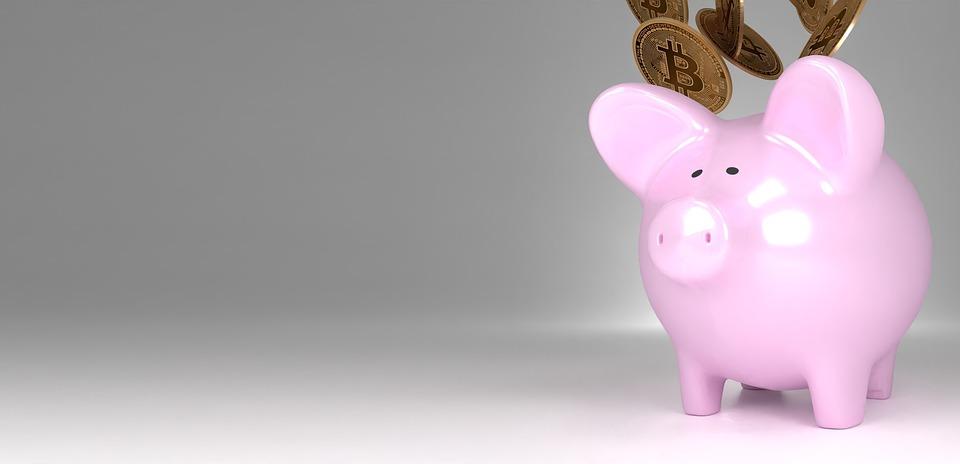 Piggy Bank, Piggy, Bitcoin, Savings, Cryptocurrency
