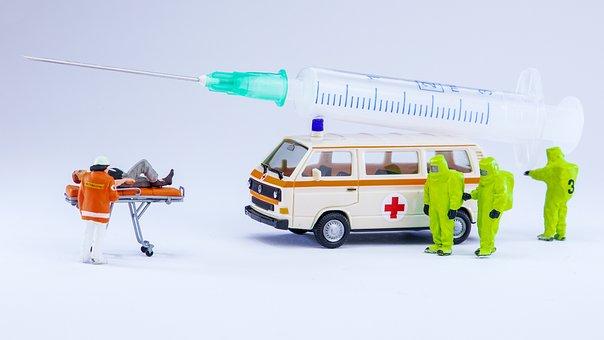 Mobile, Vaccination, Team, Work, Corona