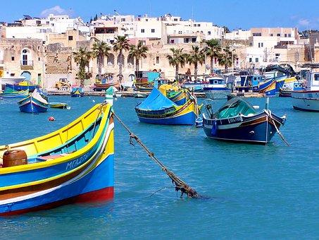 Βάρκες, Λιμάνι, Θάλασσα, Πόλη, Χωριό