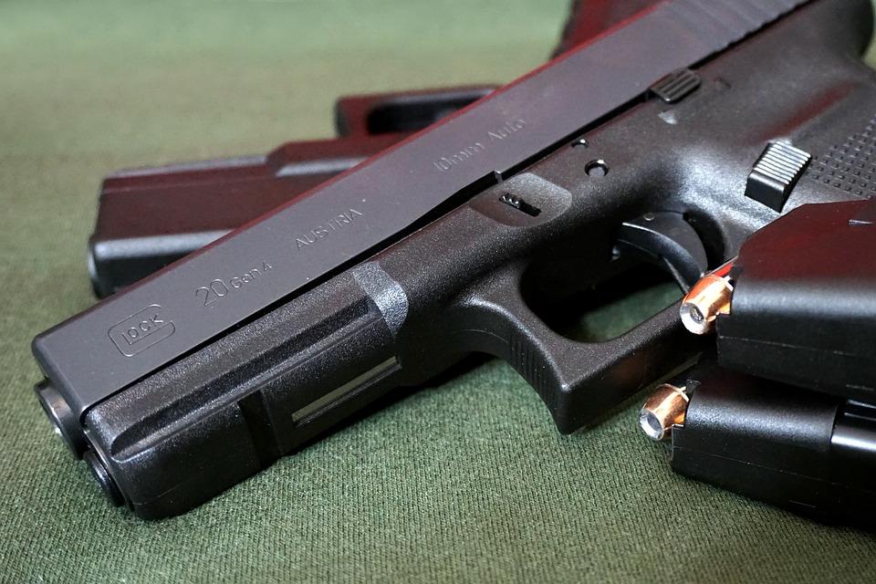 Пушка, Пистолет, Оружие, Огнестрельное Оружие, Глок