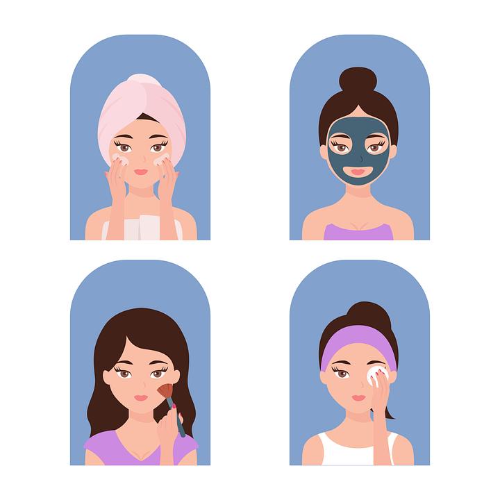 Woman, Skincare, Cosmetics, Facial, Skin, Cream, Spa