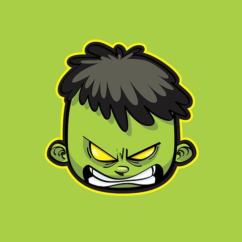 4 Free Hulk Marvel Vectors