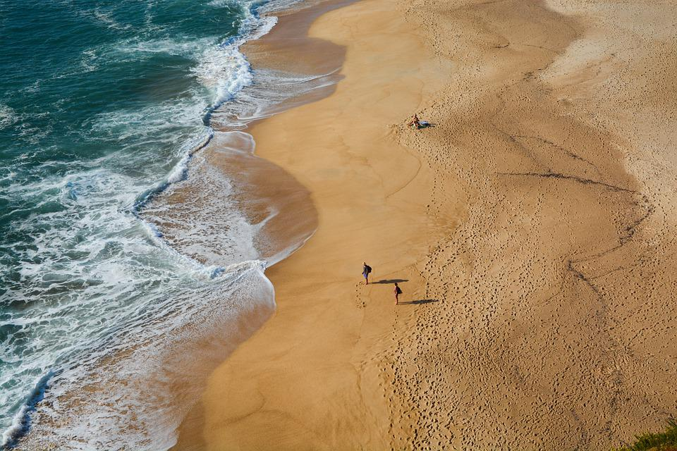 Beach, Morze, Fale, Piasek, Sandy Beach, Brzeg