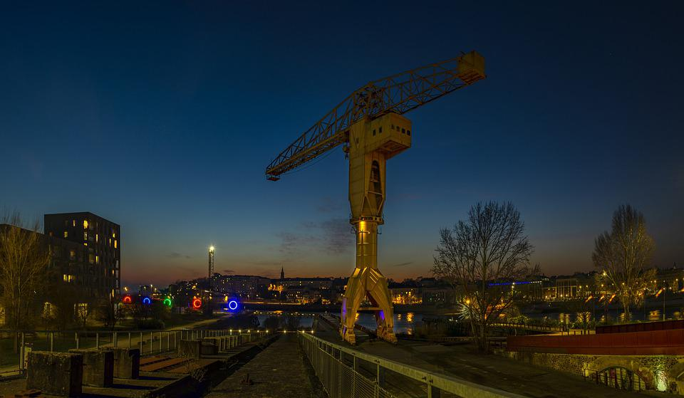 Nantes, Carrousel, Rampe, Chantier Naval, Machines