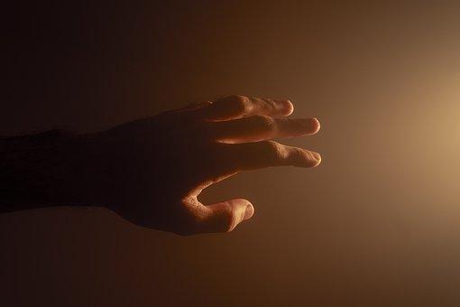A human hand