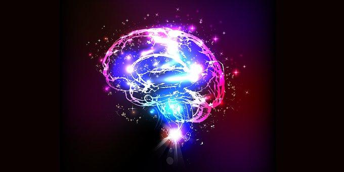 Brain, Glowing, Lights, Mind, Creativity