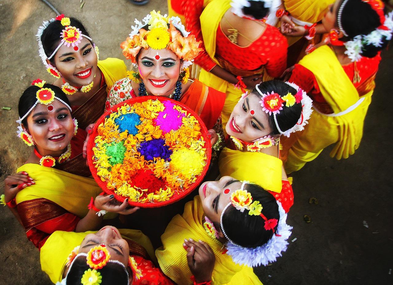 Pohela Falgun Donne Festival - Foto gratis su Pixabay