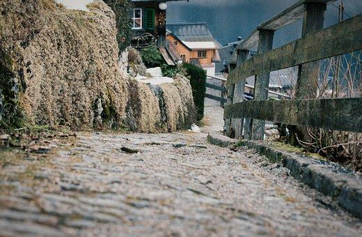Away, Stone, Path, Trail, Sidewalk