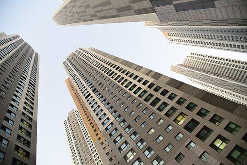 市, 建物, 空, 高層ビル, アパートメント, アーキテクチャ, ファサード