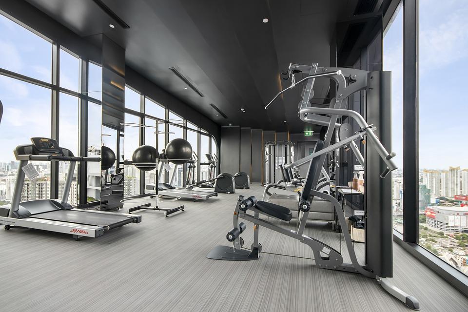 Gym, Fitness, Equipment, Sport, Interior, Room