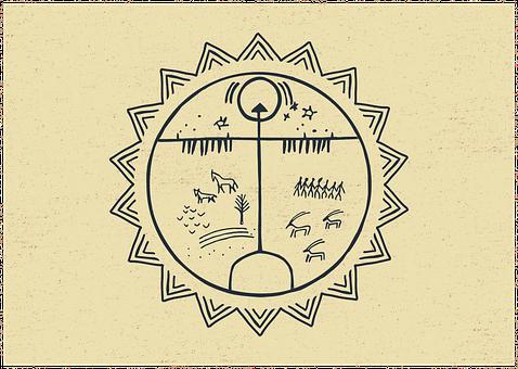 Shaman, Ritual, Drum, Symbol, Music