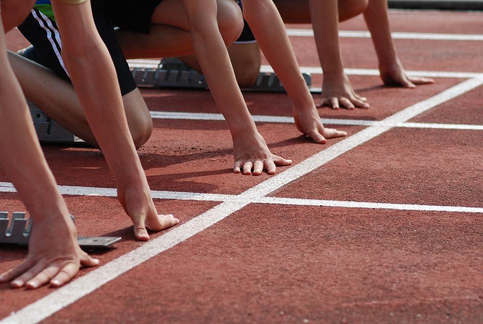 Track And Field, Sport, Sprint, Start, Race Track, Run