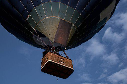 Hot Air Balloon, Flying, Sky, Floating