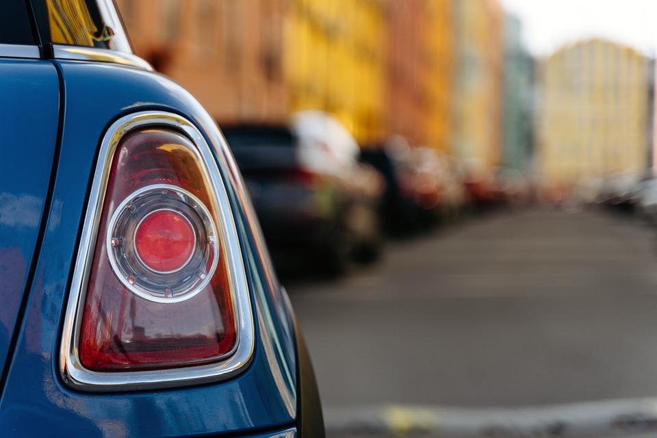 テールライト, 車, 車両, テールランプ, リア, 車の光, 光, 自動, 自動車, 都市, 通り