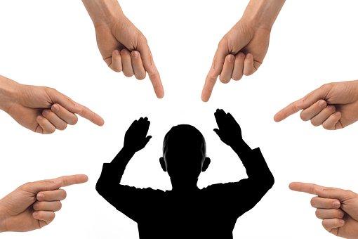 Kid, Child, Bullying, Pointing