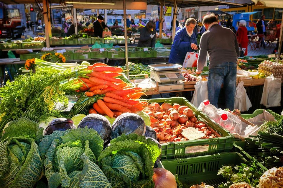 Warzyw, Rynek, Straganie, Warzywny