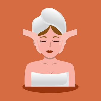 Woman, Facial, Skin Care, Spa, Salon