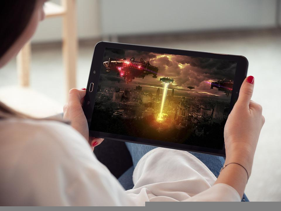 Tablet, Streaming Video, Film, Jam Tangan