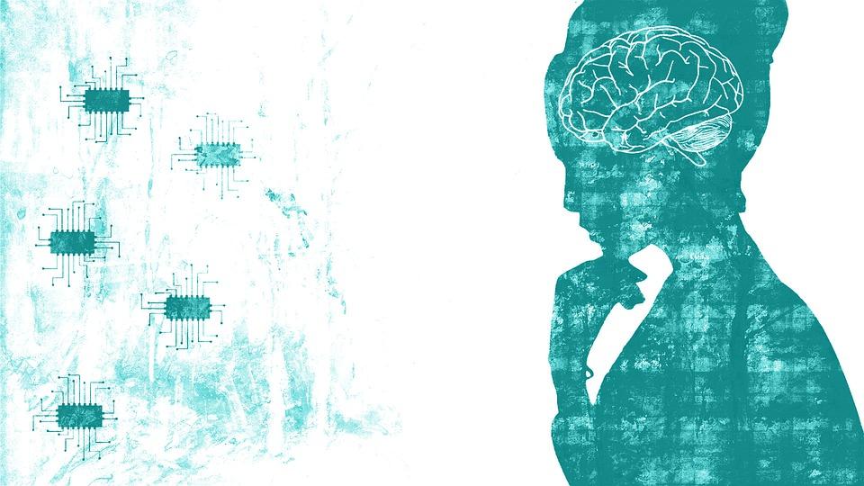脑, 芯片, 神经元, 学习机, 代码, 程序员, 网络, 计算机科学, 计算机芯片的, 头脑, 心理学