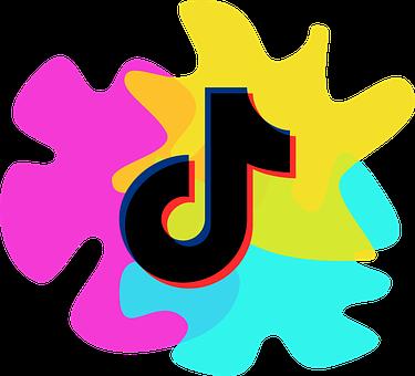 Tik Tok, Tiktok, Art, Logo, Design