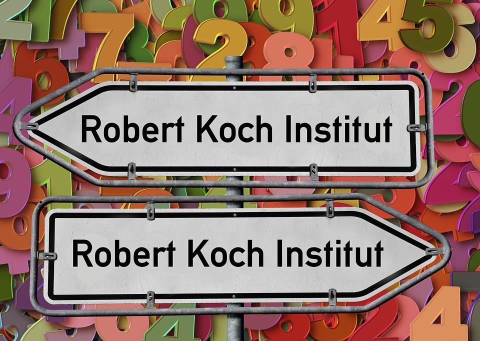 Robert Koch Institut, Corona, Wegweiser, Zahlen