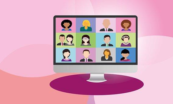 Videokonferenz, Zoom, Computer