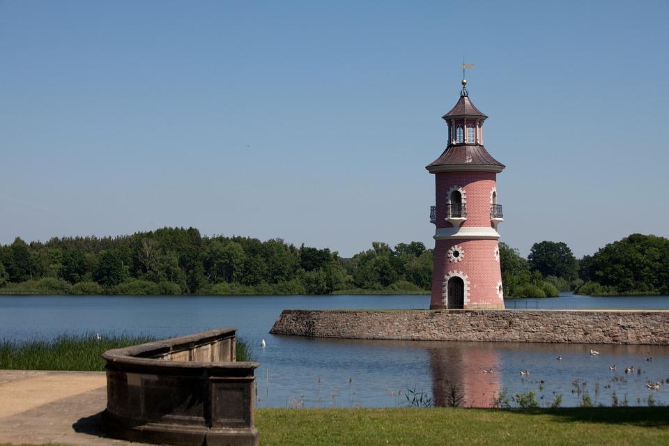 Leuchtturm in Moritzburg Sachsen