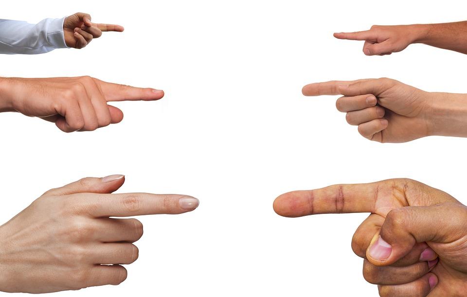 Pointing, Gesture, Confrontation, Finger, Index Finger
